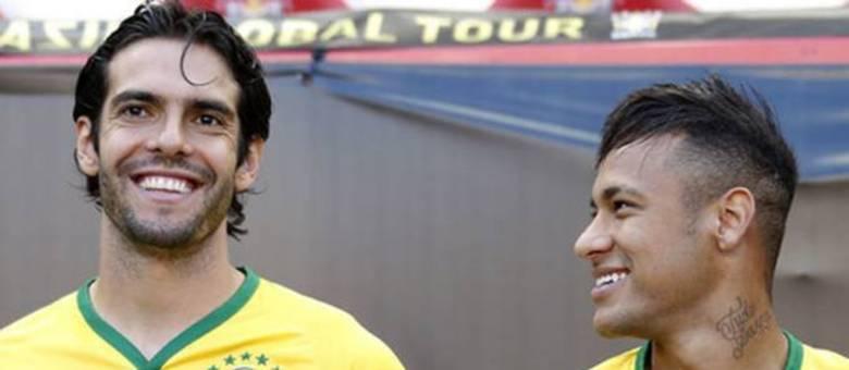 Outra vez o nome de Kaká sugerido para substituir Edu Gaspar na Seleção