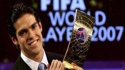Você lembra como era o mundo quando Kaká foi o melhor da Fifa? (Reuters)
