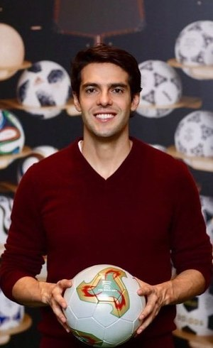 Kaká foi campeão com a seleção