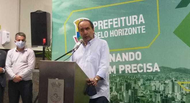 Prefeito Alexandre Kalil disse que flexibilização depende dos moradores BH