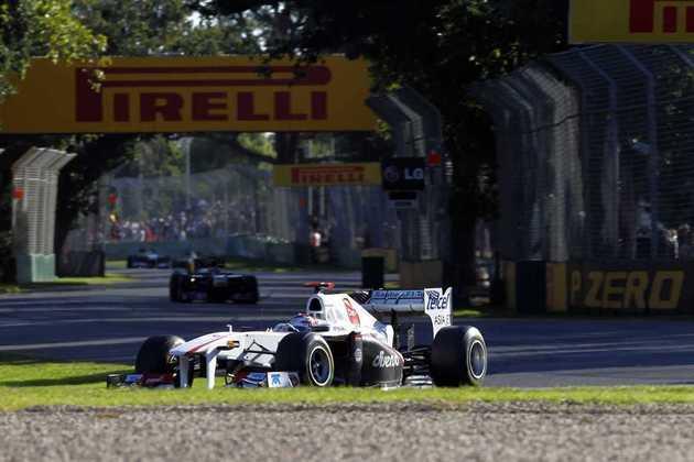 Kamui Kobayashi é o japonês mais recente da F-1. 75 corridas entre 2009 e 2014, com pódio no GP do Japão de 2012