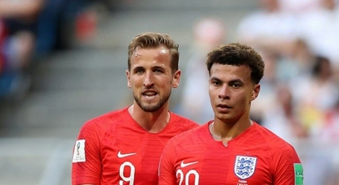 Destaques da seleção inglesa, Kane e Dele Alli são companheiros no Tottenham