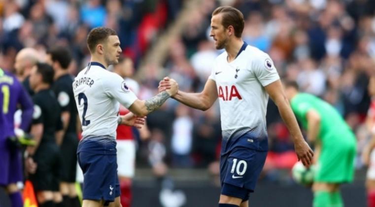 Kane e Trippier foram destaques dos Spurs