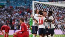 Pênalti inexistente. A Inglaterra volta a uma final, depois de 55 anos