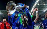 Entre os títulos mais recentes, está a conquista da ChampionsLeague