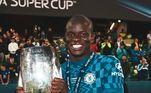 Não menos importante está o título da Super Copa ainda em2021, que reúne o campeão da Champions contra o campeão da Euro