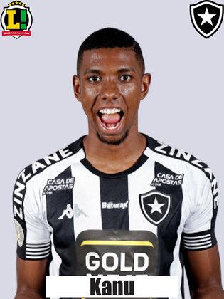 KANU - 5,5 - Penou para conter os cruzamentos do Brusque. Assim como Lucas Mezenga, chegou atrasado na bola aérea e viu Edu cabecear a bola que culminou no gol de Thiago Alagoano.