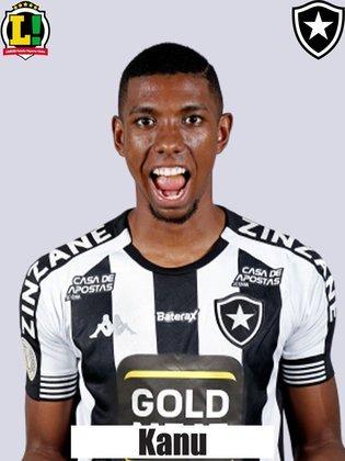Kanu - 6,0 - Conseguiu afastar e roubar bolas do adversário, que evitaram o gol do Cruzeiro.