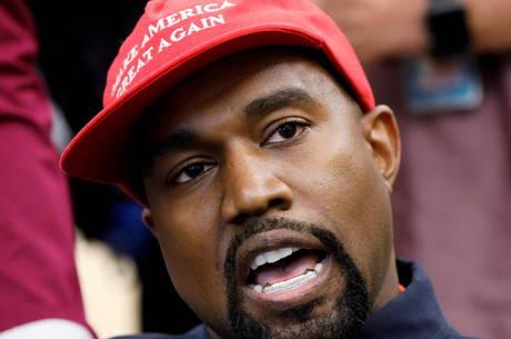 Kanye apoiou Trump durante campanha de 2016
