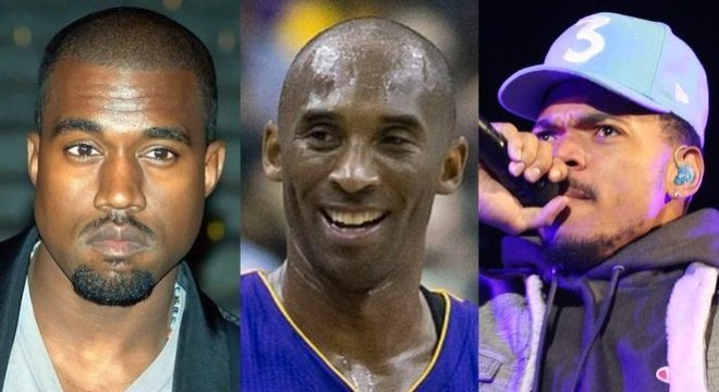 Kanye West, Kobe Bryant, Chance the Rapper