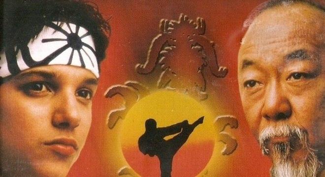 Filme dos anos 80 trouxe como protagonistas Ralph Macchio e Pat Morita