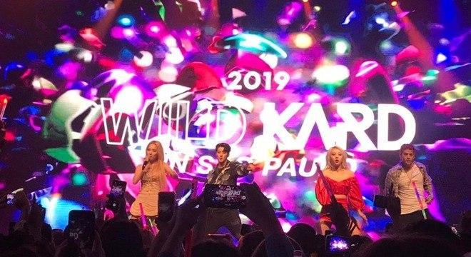 KARD se apresentou pela quarta vez em São Paulo na noite desta sexta-feira (11)