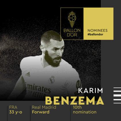 Karim Benzema (francês) - atacante - Real Madrid