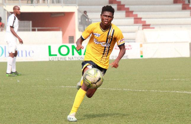 Karim Konaté (Costa do Marfim) - Clube: ASEC Mimosas (Costa do Marfim) - Posição: Atacante