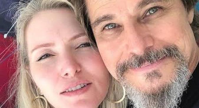 Karin Roepke e Edson Celulari terão uma menina