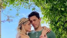 Karina Bacchi e Amaury Nunes afastam crise no casamento