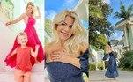 Karina Bacchi, de 44 anos, é proprietária de uma mansão de 1.000 metros quadrados em um bairro nobre, em São Paulo. A atriz, que enfrenta uma crise no casamento com Amaury Nunes — conforme revelado pelo próprio ex-jogador—, tem passado cada vez mais o tempo em casa. Nas redes sociais, onde ela é acompanhada por 8,2 milhões de seguidores, a empresária exibe imagens do imóvel luxuoso