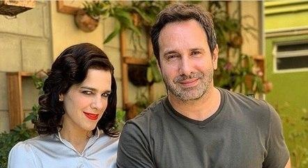"""Karina Barum e Beto Ribeiro em """"A3"""""""