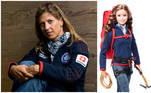 A mexicanaKarla Wheelock é alpinista e foi a primeira latino-americana a completar o chamado