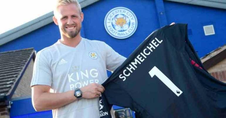 Kasper Schmeichel - O goleiro dinamarquês é filho de Peter Schmeichel, que defendeu por oito anos pelo Manchester United e foi campeão da Eurocopa de 1992.