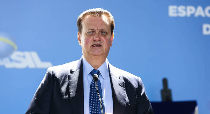 O presidente nacional do PSD, Gilberto Kassab