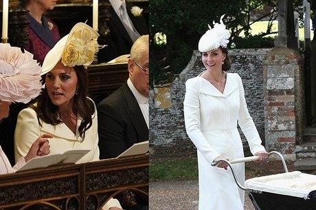 Kate usou uma versão do vestido Alexander McQueen