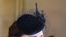 Katte Middleton usa colar da rainha em funeral do príncipe Philip