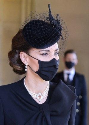 Kate usou joia de Elizabeth 2ª