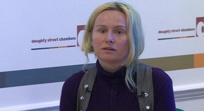 Kate Wilson teve um relacionamento de dois anos com um policial infiltrado