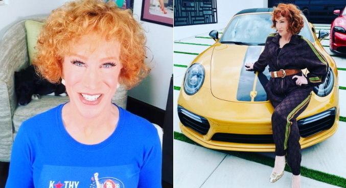 Em texto, Kathy Griffin revelou câncer e cirurgia que terá que fazer