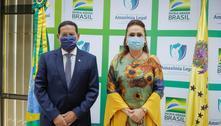 Em reunião, Kátia Abreu e Mourão falam sobre China e meio ambiente