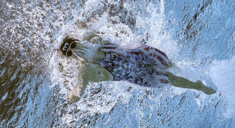 Katie Ledecky agora tem sete medalhas de ouro e três de prata em Jogos Olímpicos