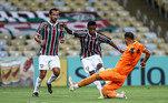 Mas, entre tantos dribles e gols, o lance que projetou de vez o garoto foi o golaço, com G maiúsculo, na vitória de 3 a 1 frente o Nova Iguaçu, no Campeonato Carioca