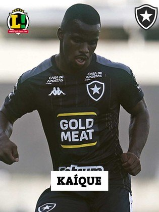 Kayque - 6,0 - Entrou no segundo tempo e soube segurar o resultado até o final da partida.