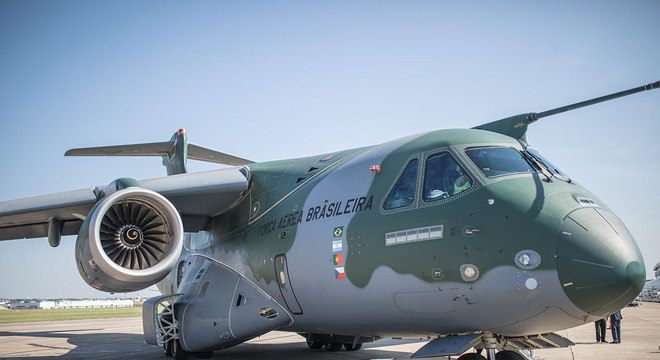 Portugal também colaborou no desenvolvimento da aeronave