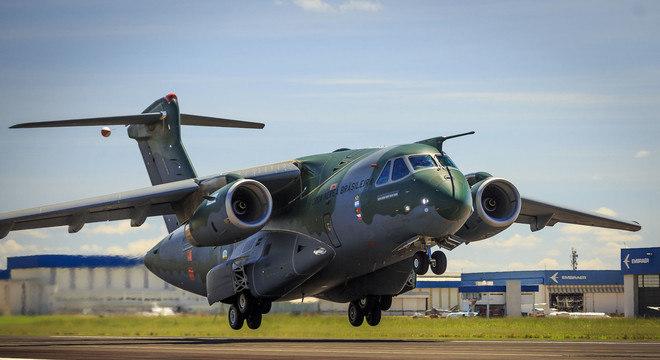 KC-390 Millenium, aeronave da Embraer vendida para a Hungria