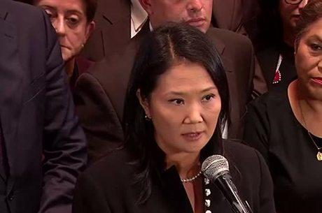 Keiko é a líder do principal partido de oposição do país