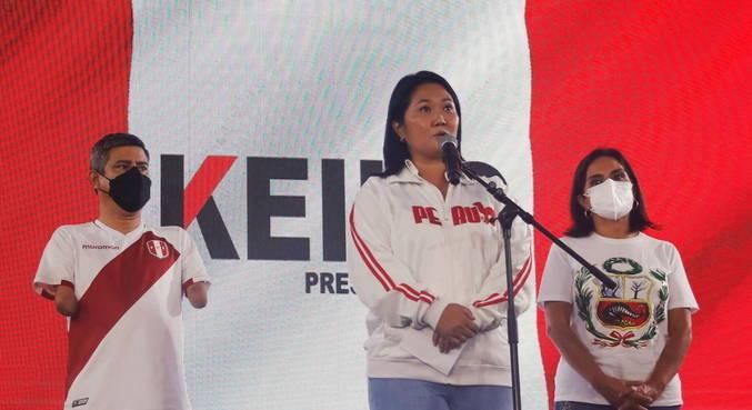 Com 90% das urnas apuradas, Keiko Fujimori lidera no Peru