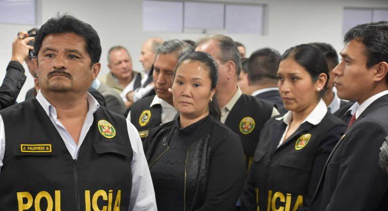 Procurador anticorrupção do Peru pede prisão de Keiko Fujimori