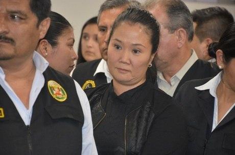 Keiko Fujimori havia sido solta sob recurso