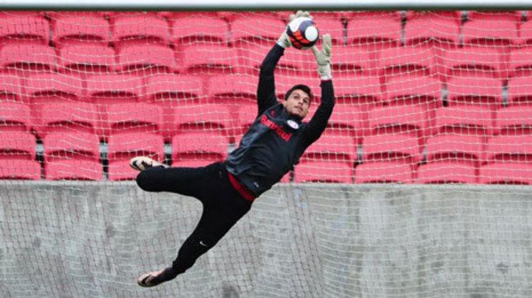 Keiller: goleiro do Internacional, 24 anos, contrato até dezembro de 2022. É o terceiro goleiro da equipe