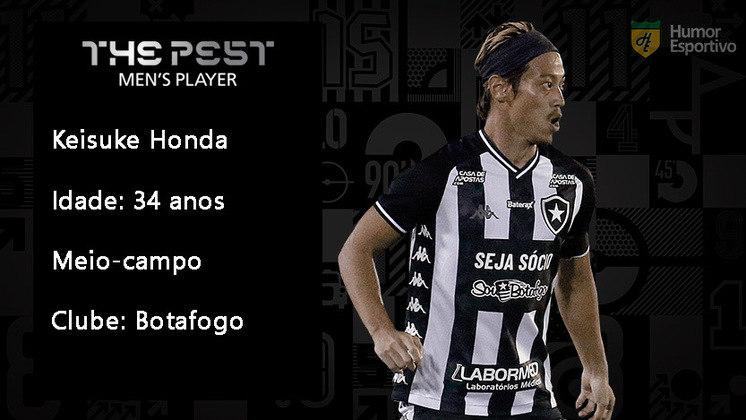 Keisuke Honda chegou como grande nome do Botafogo em 2020, mas suas atuações não corresponderam às expectativas. O japonês foi parar no banco de reservas do Glorioso.
