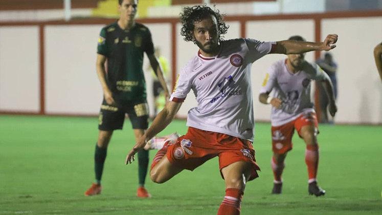 Keke (Tombense): a Tombense vem fazendo barulho no Campeonato Mineiro, e um dos destaques do campeonato é o atacante Keke, artilheiro da competição com cinco gols.