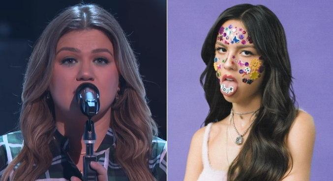 Kelly Clarkson soltou o vozeirão ao interpretar o sucesso 'Drivers License'