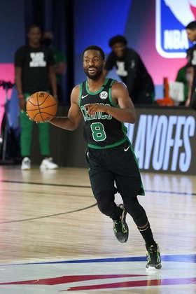 Kemba Walker (Boston Celtics) 6,5 - Aparentemente, a limitação de tempo de quadra já não existe para Walker, que sofria com dores no joelho. O armador saiu de quadra com 19 pontos e cinco assistências