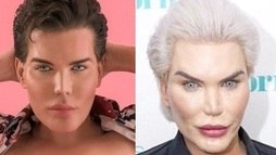 'Ken humano' choca ao surgir com nova mudança em programa de televisão ()