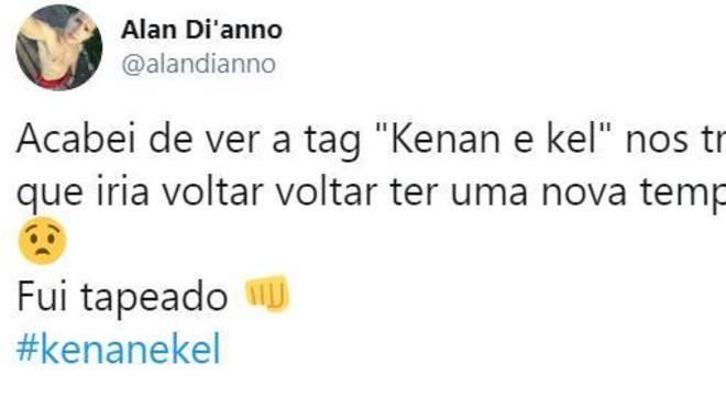 Kenan e Kel no Twitter
