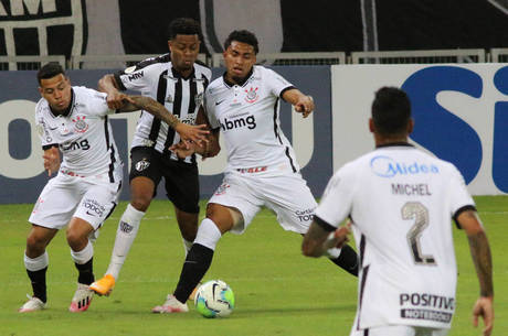 Atlético-MG se impôs no 2º tempo diante do Corinthians