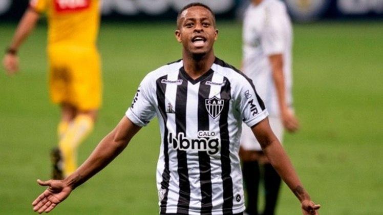 Keno - Clube: Atlético-MG - Posição: atacante - Idade: 31 anos - Jogos no Brasileirão 2021: 5 - Situação no clube: perdeu espaço com o novo treinador (Cuca).