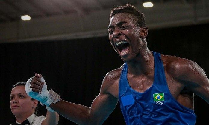Keno Machado: o pugilista de 21 anos é uma das esperanças do boxe brasileiro. Na Olimpíada, parou nas quartas. No Pan de 2019, foi prata.